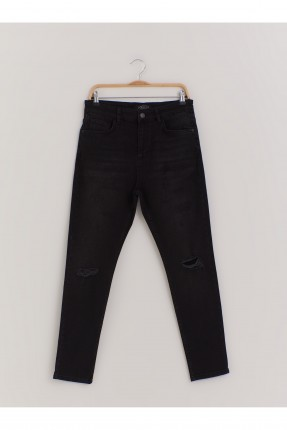 بنطال جينز رجالي - اسود