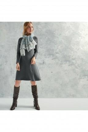 فستان سبور تريكو - فضي