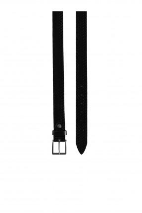 حزام رجالي بنقشة جدلة