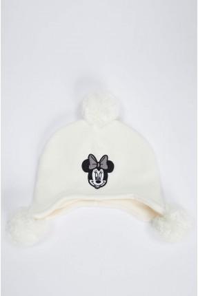 قبعة بيبي بناتي برسمة ميكي ماوس
