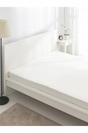 شرشف سرير مزدوج سادة