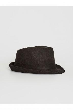 قبعة رجالية دائرية - اسود