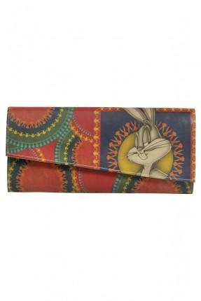 حقيبة يد نسائية بطبعة ارنب