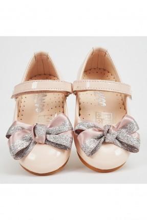 حذاء بيبي بناتي مزين بوردة