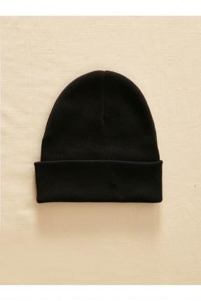 قبعة رجالية تريكو - اسود