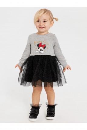 فستان بيبي بناتي بطبعة ميني ماوس