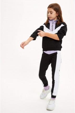 بيجاما رياضية اطفال بناتي بسحاب