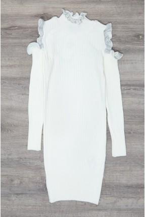 فستان سبور اطفال بناتي تريكو بكشكش