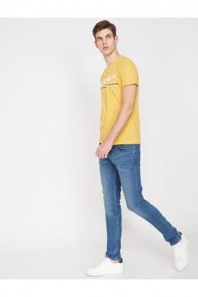 بنطال جينز رجالي بكحتة سبور