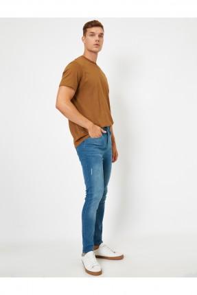 بنطال جينز رجالي سبور - ازرق