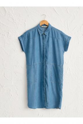 فستان سبور جينز بازرار مخفية