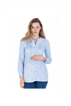 قميص للحامل بموديل كسرات