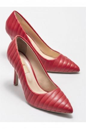 حذاء نسائي بكعب مسمار - احمر