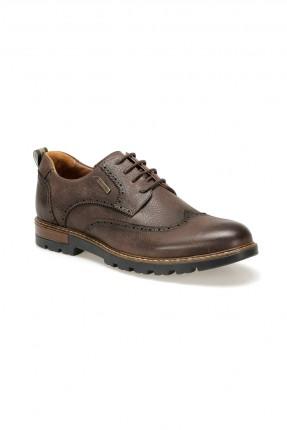 حذاء رجالي مزخرف - بني