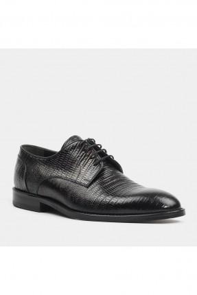 حذاء رجالي لامع - اسود