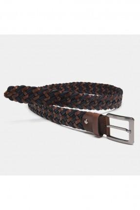 حزام رجالي بلونين