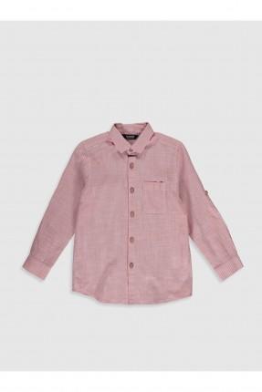 قميص اطفال ولادي بوبلين سبور