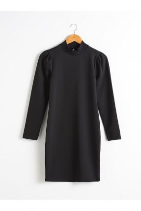 فستان سبور بفتحة على الظهر - اسود