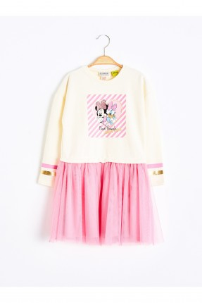 فستان اطفال بناتي بطبعة ميني ماوس