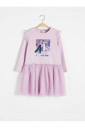 فستان اطفال بناتي بطبعة فروزين