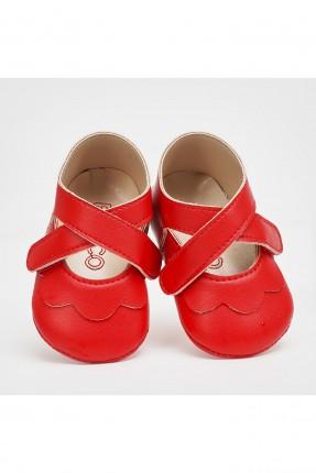 حذاء بيبي بناتي بحزام لاصق
