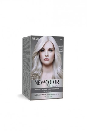 صبغة شعر لون فضي رمادي Neva Color
