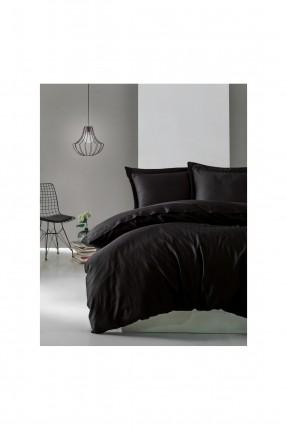 طقم غطاء سرير مزدوج - اسود
