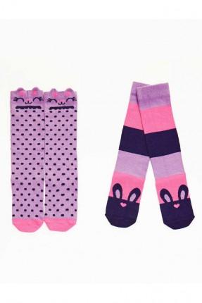 جوارب اطفال بناتي عدد 2