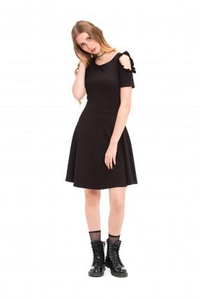 فستان سبور مكشوف من الكتف
