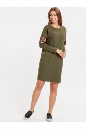 فستان سبور مزين بالترتر