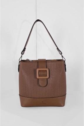 حقيبة يد نسائية مزين بحزام