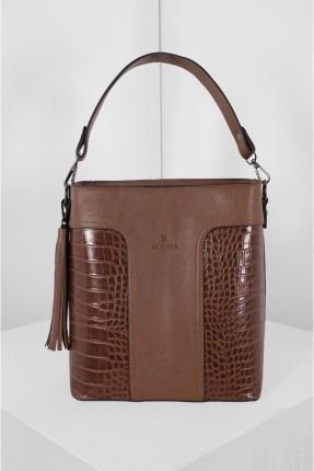 حقيبة يد نسائية مزين بشراشيب