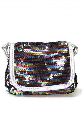 حقيبة يد اطفال بناتي مزينة بستراس ملون