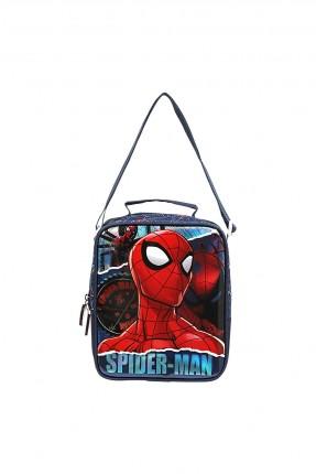 حقيبة يد اطفال ولادي بطبعة سبايدر مان