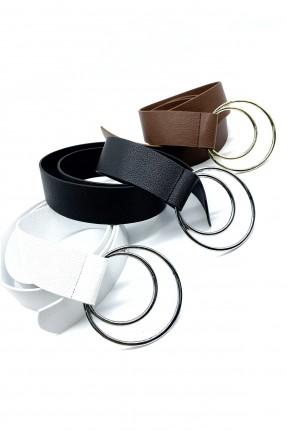حزام نسائي ببكلة دائرية عدد 3