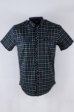 قميص رجالي نص كم كارو
