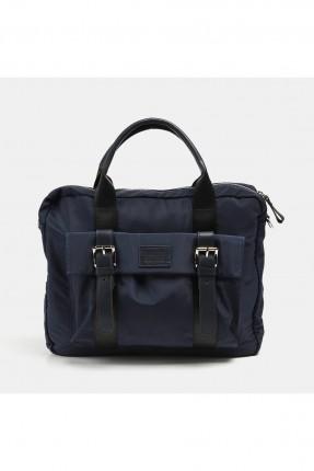 حقيبة يد رجالية باحزمة - كحلي