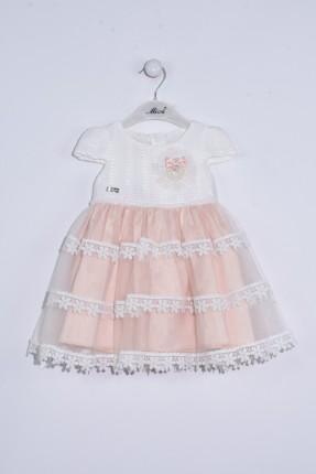 فستان بيبي بناتي مع تول طبقات