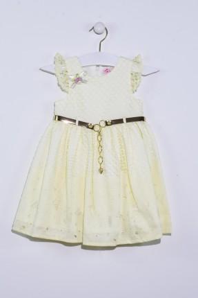 فستان اطفال بناتي سبور مع كمر