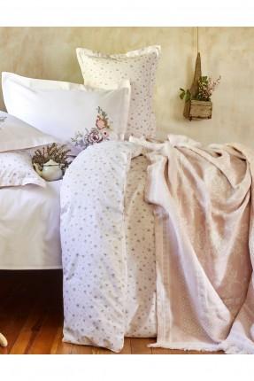 بطانية سرير مزدوج مزخرفة