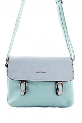 حقيبة يد نسائية مزينة باحزمة