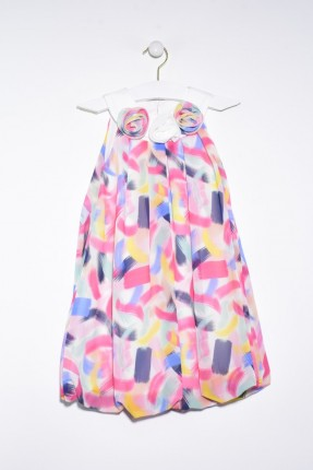 فستان اطفال بناتي مموه