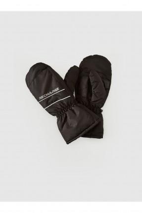 قفازات رجالية مبطنة بدون اصابع