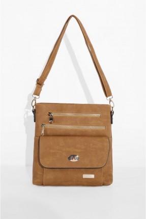 حقيبة يد نسائي مزينة ببسحابات