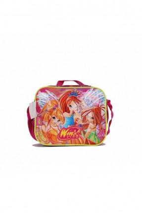 حقيبة يد اطفال بناتي بطبعة فتيات