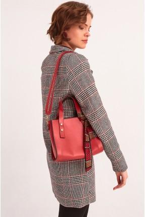 حقيبة يد نسائية شيك - احمر