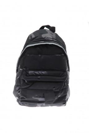 حقيبة ظهر اطفال بناتي بنقشة مموهة
