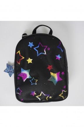 حقيبة ظهر اطفال بناتي بنقشة نجوم