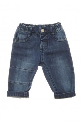 بنطال بيبي ولادي جينز مزين بجيوب