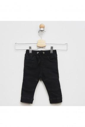 بنطال بيبي ولادي جينز بخصر رباط